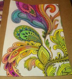 Entangles Zentagles Doodles Tangles Zenspiration Inspiration Adult Coloring Pages Completed Finished Colored Pencils