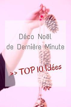 Déco Noël de dernière minute : TOP10 des idées pas cher