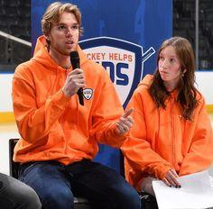 Captain Connor Hockey Helps Kids 2019 Connor Mcdavid, Cast Your Vote, Edmonton Oilers, The Four, Charity, Hockey, Rain Jacket, Windbreaker, It Cast