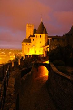 carcassonne in South of France...someday I will make it there!!