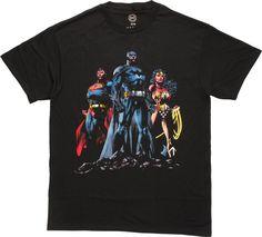 Justice League DC Trio T-Shirt