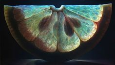 Pinturas de Frutas Hiperrealitas