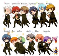 A Japanese Anime based on Zodiac Signs !! Super cute ! - Lindaland