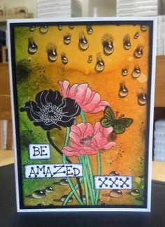 Be Amazed xxx. Gebruikte materialen zie annemiekescreatievekaarten.blogspot.com