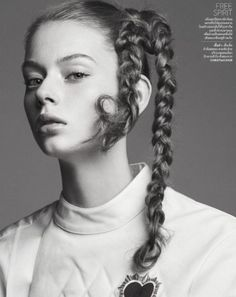 """midnight-charm:  """" Lauren de Graaf photographed by Natth Jaturapahu for Vogue Thailand May 2017  """""""