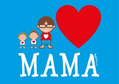 Laat al mama's kanjers digitaal laten ontwerpen bij www.leukidee.com voor strijkopdruk, digitaal bestand (voor taart of beker), button, magneet of sleutelhanger.