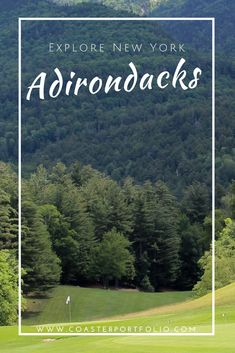 Explore New York // Weekend Getaways from NYC // Travel to the mountains in the Adirondacks, New York