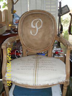 Sweet re-purposed chair