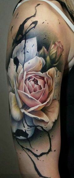 Amazing Tattoos Body Art Designs and Ideas Image Gallery for Men and Women - diy tattoo images - Tattoo Designs For Women M Tattoos, Flower Tattoos, Body Art Tattoos, Tattoos For Guys, Cool Tattoos, Unique Tattoos, Black Tattoos, Diy Tattoo, Tattoo Henna