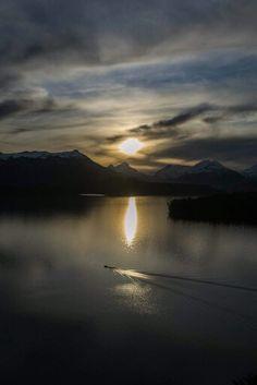 Lago Nahuel Huapi. Patagonia. Argentina