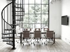 Laura Hammett studio conference rooms with eames executive chairs