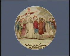 French Revolution Digital Archive: Motion d'une femme au Palais R.le [estampe]