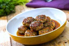 Savoir Faire: Receta de albóndigas de cerdo en salsa de naranja y miel
