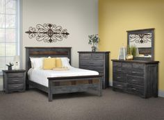 This Barn Wood Bedroom Furniture Is Proudly Made In The Usa