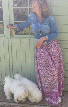 Retrouvez cet article dans ma boutique Etsy https://www.etsy.com/fr/listing/515411238/jupe-longue-magnifique-gaze-de-coton