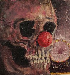 """Life is a carnival Oil on canvas 12 x 12"""" 2014"""