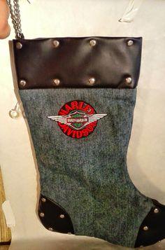 AMERICAN MOTORCYCLE PRIDE: Harley Davidson Christmas Stocking | eBay