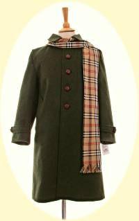 Girls traditional winter coats | Girls Traditional Classic Wool ...