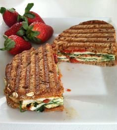 Roasted Tomatoes, Fresh Mozzarella & Basil Panini Recipes — Dishmaps