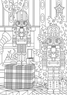 Nutcracker Printable Christmas Coloring PagesPrintable