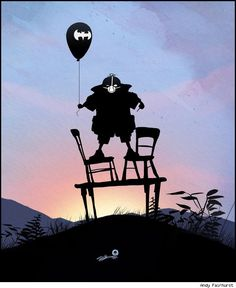 Andy Fairhurst Makes Children Champions in Superheroic Silhouettes [Art] - ComicsAlliance | Comic book culture, news, humor, commentary, and reviews
