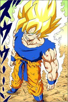 Dragon Ball Full Color - Freeza Arc Chapter 72 Page 16 Dragon Ball Z Shirt, Dragon Ball Gt, Akira, Manga Art, Anime Art, Super Saiyan, Animes Wallpapers, Illustration, Character Design