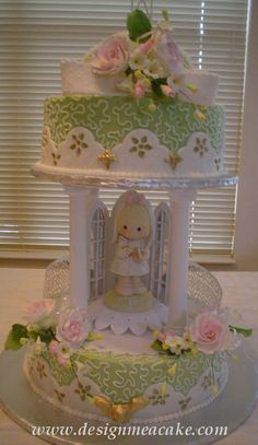 Edna De La Cruz Precious moments cake cute for little girl's event