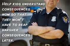 this parent called the police to come and talk to his son when the school reported the son being violent to another student and his son didn't care about the seriousness of the situation, got the point across really quickly, better to deal with tough love now than breaking the law later...