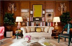Celerie Kemble Bedrooms   Living Room designed by Celerie Kemble of Kemble Interiors .