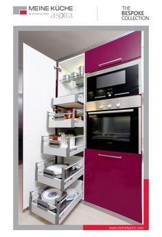 Tall Larder Unit for Dry Storage