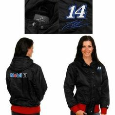 Over The Wall NASCAR Collection Tony Stewart Women's Nylon Hooded Jacket by Over the Wall. $29.99
