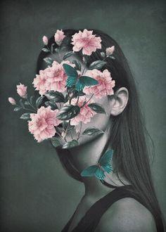 Art And Illustration, Collage Design, Collage Art, Cross Paintings, Beauty Art, Surreal Art, Aesthetic Art, Portrait Art, Flower Art