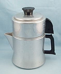 Mirror 781M – Aluminum Drip Coffee Pot – 4 Cup