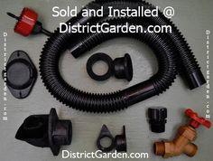 DIY Diverter and Rain Barrel Kit
