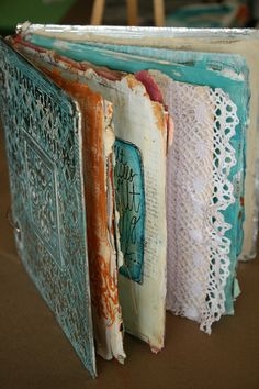 #TeaCollection a beautiful handmade journal to savor the trip