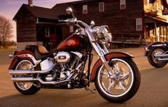 The original fat custom icon with a burly style that's often imitated but never duplicated.   2010 Harley-Davidson Fat Boy