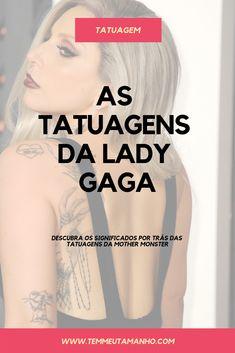 Little Monsters, Tatuagem Lady Gaga, Tattoo Nomes, Tony Bennett, David Bowie, Tattoos For Women, Piercing, Tattoo Ideas, All Tattoos