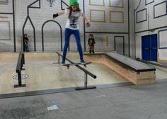 Boardslide op SPU