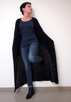 omⒶ KOPPA - Wool black jacket