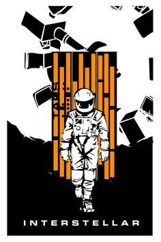 Fan-Made #Interstellar #Posters by Luigi Rinaldo