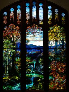 Tiffany Stain Glass on Louis Comfort Tiffany  Stained Glass Window From The Metropolitan