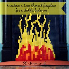 Here's an idea for an unused fireplace in a child's room! http://so-mum.co.uk/creating-lego-themed-feature-childs-bedroom-unused-fireplace/