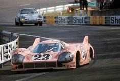"""1971 Porsche 917/20 """"The Pink Pig""""  Porsche (4.907 cc.)   Reinhold Jöst  Willi Kauhsen"""