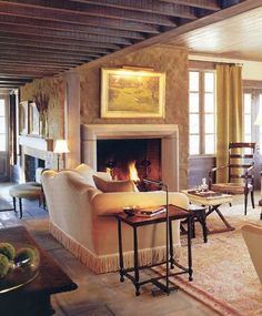 english country living room by mcalpine tankersley
