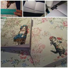 Cuadernos cosidos...