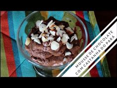 Sobremesa Low Carb | Mousse de Chocolate com Castanha do Pará - Vida Low Carb
