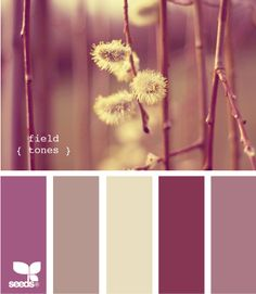 Color Palette Inspirations from design-seeds.com I am in love with this site! Great color combos!