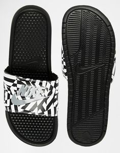 99c2e0ac2c94e goes with both looks  Nike Benassi JDI Slides Nike Sandals