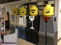 Life Size LEGOs! - Halloween Costume Contest via @costumeworks