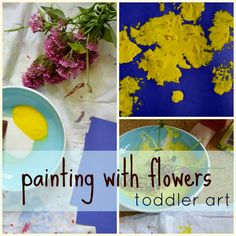 Painting with flower...
